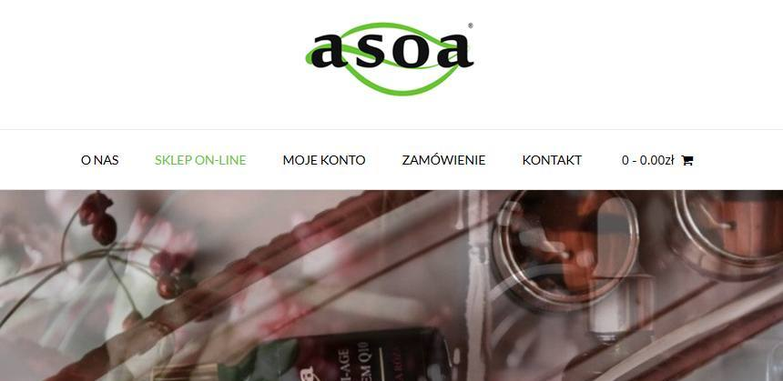 asoa.pl – sklep online z kosmetykami