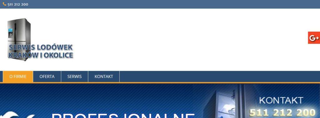 serwis-lodowek.pl – strona profesjonalnego serwisu AGD