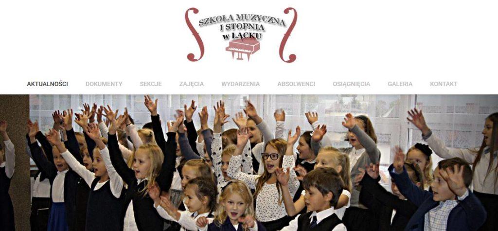 smlacko.pl – strona szkoły muzycznej