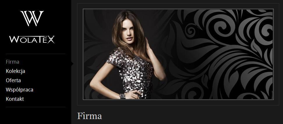 wolatex.pl – strona producenta odzieży